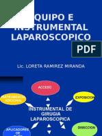 Instrumental Laparoscopico