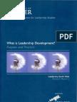 What is Leadership Development