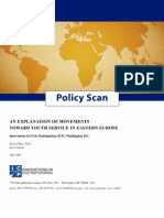 Eastern Europe Policy Scan