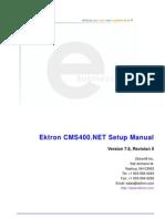 Ektron 76 Setup Manual