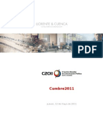 Informe ejecutivo Cumbre 2011
