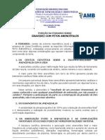Posição da Federação Brasileira das Associações de Ginecologia e Obstetrícia sobre Gravidez com fetos anencéfalos