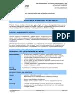 AIM Parliamentarian - Role Profile and Application Procedure