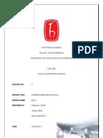 Brake Design Report