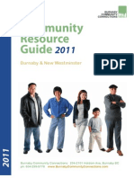 Burnaby Community Connections Community Resource Guide 2011