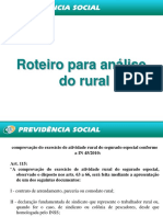 Roteiro Para Analise Do Rural