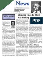 October 2008 Spot News