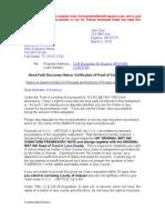 002 Initial Letter to Lender1 2