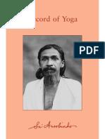 10-11RecordOfYoga Sri Aurobindo