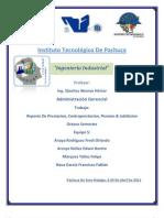 Reporte de Prestacion Contraprestacion Pension & Jubilacion