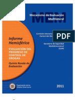 CICAD Hemispheric Report Evaluation of Progress in Drug Control SPA