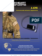 Limited Visibility Concealable Antenna