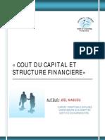 Cout Du Capital Et Structure Financiere Mstcf _avec Page de Garde