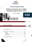 Gereje Corporate Finance Indian Me Industry Trends and Opportunities 3rd March1