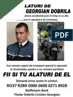 Motopolitistul Brailean Accident At Grav in Timp Ce Se Afla in Misiune in Apropiere de Constanta