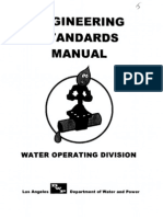 TP22 Attachment J LADWP Engr Stds Manual Water Div
