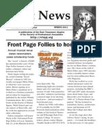 Spring 2011 Spot News