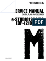 Manual de Servicio Sharp e-STUDIO120-150