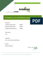 El Metano y Los Clorofluorocarbonos