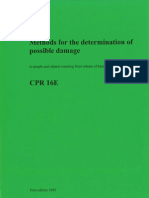 Green Book, Methods for the Determination of Possible Damage, CPR 16E