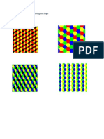 Example of Tessellation Involving One Shape