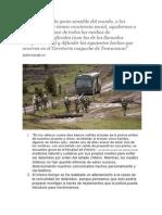 Represión a Mapuche