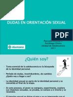 Dudas en Orientacion Sexual