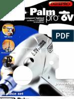 PalmPro 6V Screwdriver