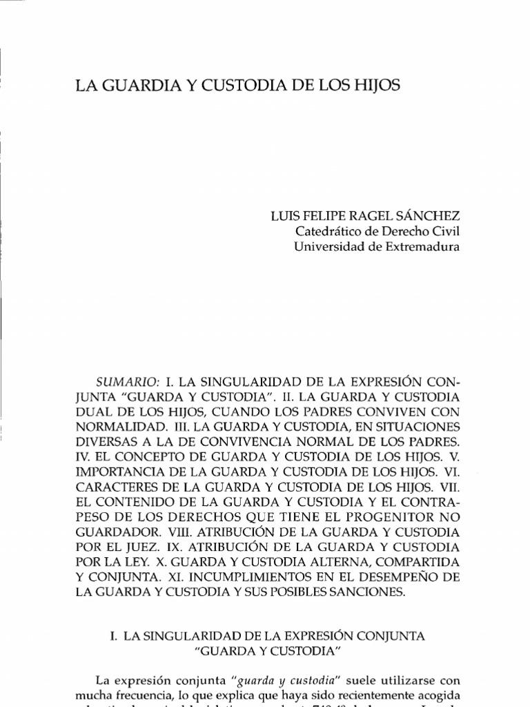 Lujoso Reanudar Tareas De Custodia Galería - Ejemplo De Colección De ...