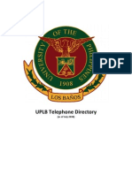 005 UPLB Telephone Directory