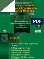 Zachman Framework