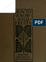 Peterson-How to Know Wild Fruit