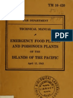 TM 10-420 Emergency Food Plants & Poisonous Plants of the Pacific 1943