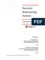 Harvard Referencing System (Dowloaded 8 Feb 2011)