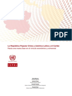 La Republica Popular China y America Latina y El Caribe Trade
