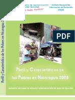Perfil y Caracteristicas Pobres en Nicaragua