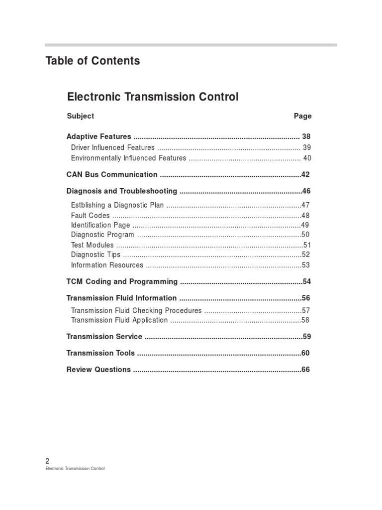 Bmw Automatic Trans Service | Automatic Transmission | Transmission
