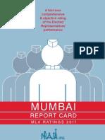 Mumbai MLA Report Card