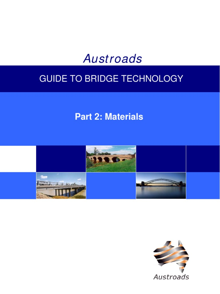 Austroads - Guide to Bridge Technology Part 2 - Materials   Lumber    Concrete