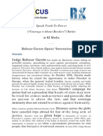 "Speak Truth To Power series in KI-Media - Baltasar Garzon (Spain) ""International Law"""