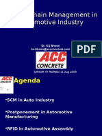 SCM in Automotive Industry
