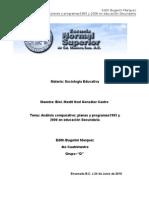 Analisis Plan y Programa 1993 y 2006 Edith Bugarini Marquez