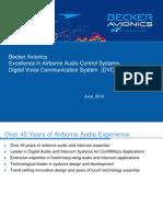 A09 - DVCS 6100 - System Presentation