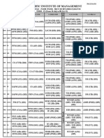 Time Table PGDM-All (2010 - 12, Term-IV (w.e.f. 18 Jul 2011)(1)