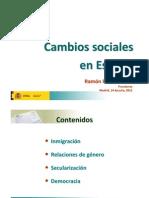 Cambios sociales en España