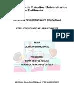 Clima institucional1