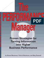 IBM Cognos Performance Manager