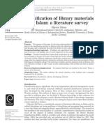 Classification_of Islamic Literature