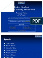 Project KickStart Create a Winning Presentation Project