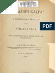 Asurikalpa -- atharva veda